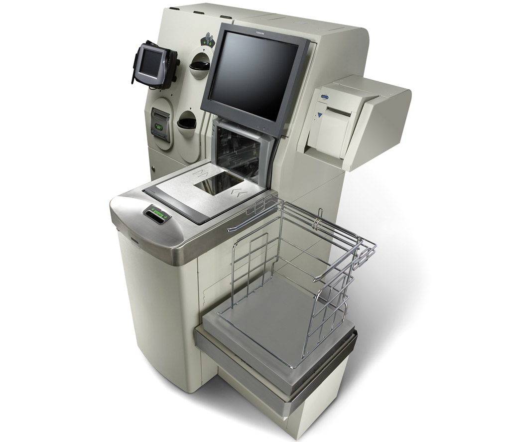 Self Checkout System 6 With Kiosk Toshiba Commerce
