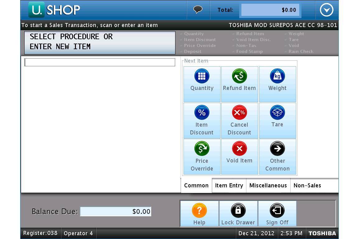 Surepos Ace Amp Surepos Ace Eps Toshiba Commerce